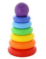 Пирамидка Полесье Колечко-шар, 8 элементов