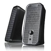 Колонки, Microlab, B55(13), 2.0, 4Вт (2Вт*2), USB (питание), Диапазон частот 80-18кГц, 3,5 MiniJack,