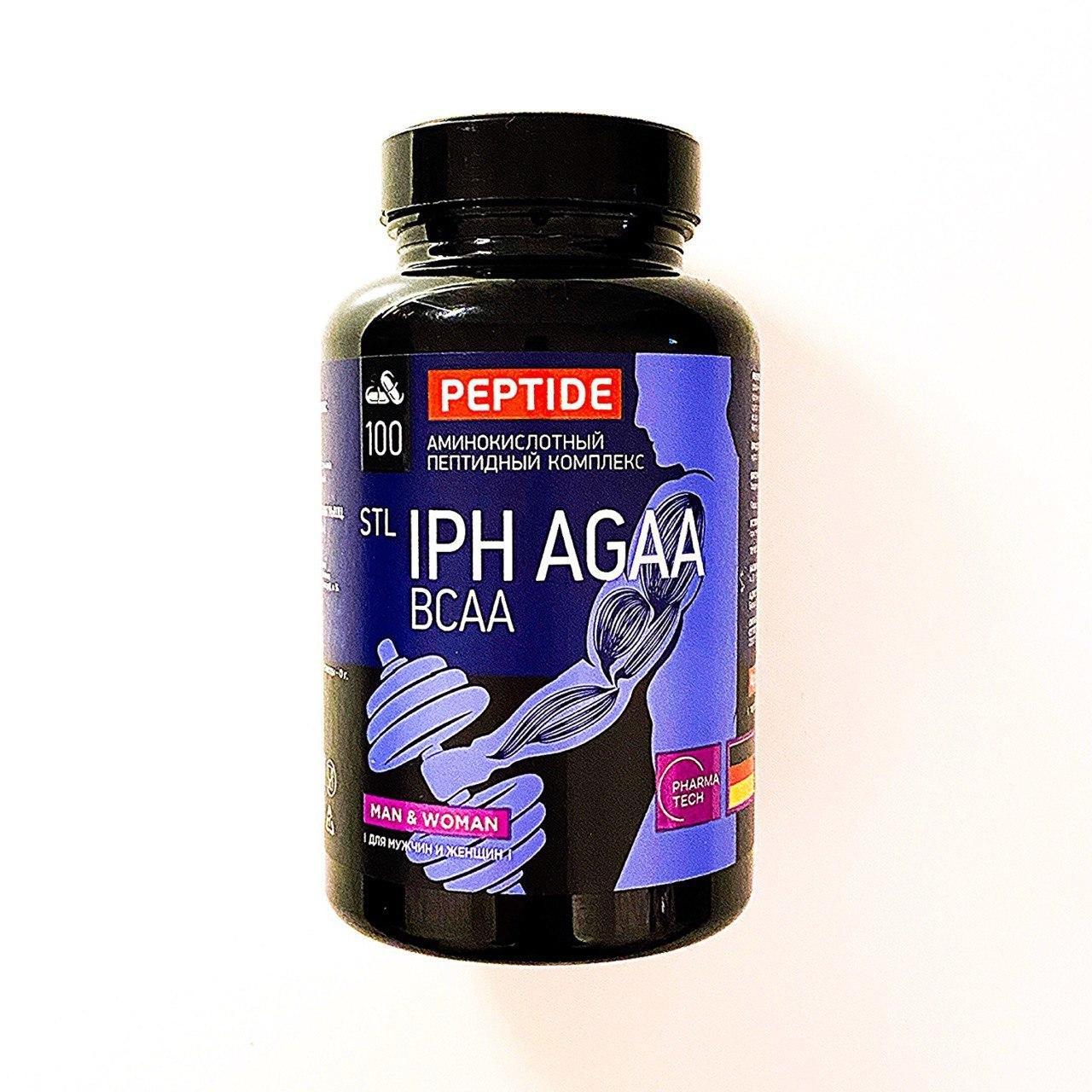 Аминокислотный пептидный комплекс IPH AGAA для мышц 10 700 ₸