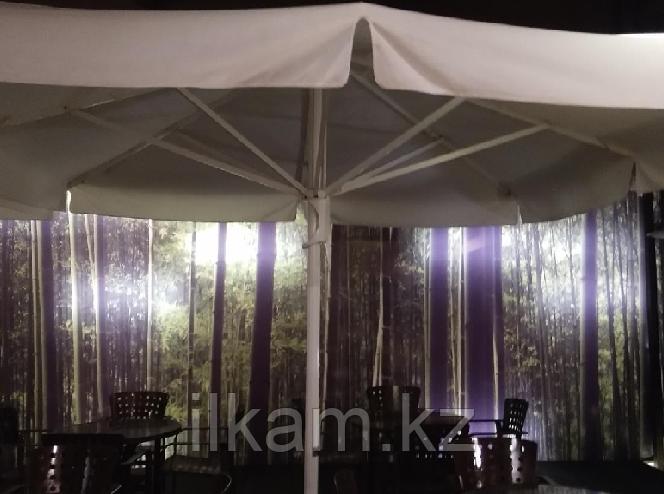 Зонт для кафе и летних площадок  5х5