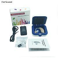 Слуховой аппарат (усилитель звука) со встроенным аккумулятором, G25, фото 1