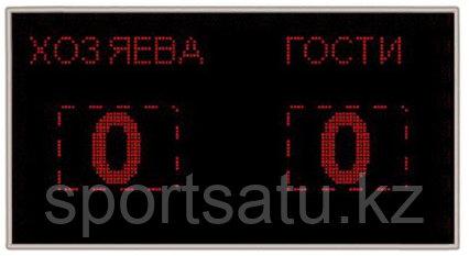 Электронное табло 128х64 (внеш 133х69) красн с ПО