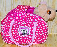 4572 Собачка с сумочкой Chi-chi love (23*19-сумка, 25*20-собака), фото 2
