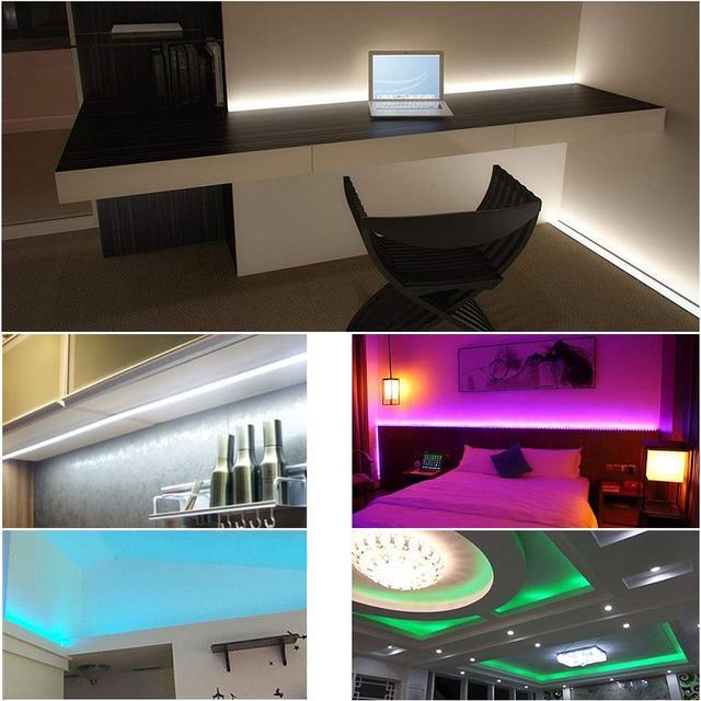 применение RGB ленты дома