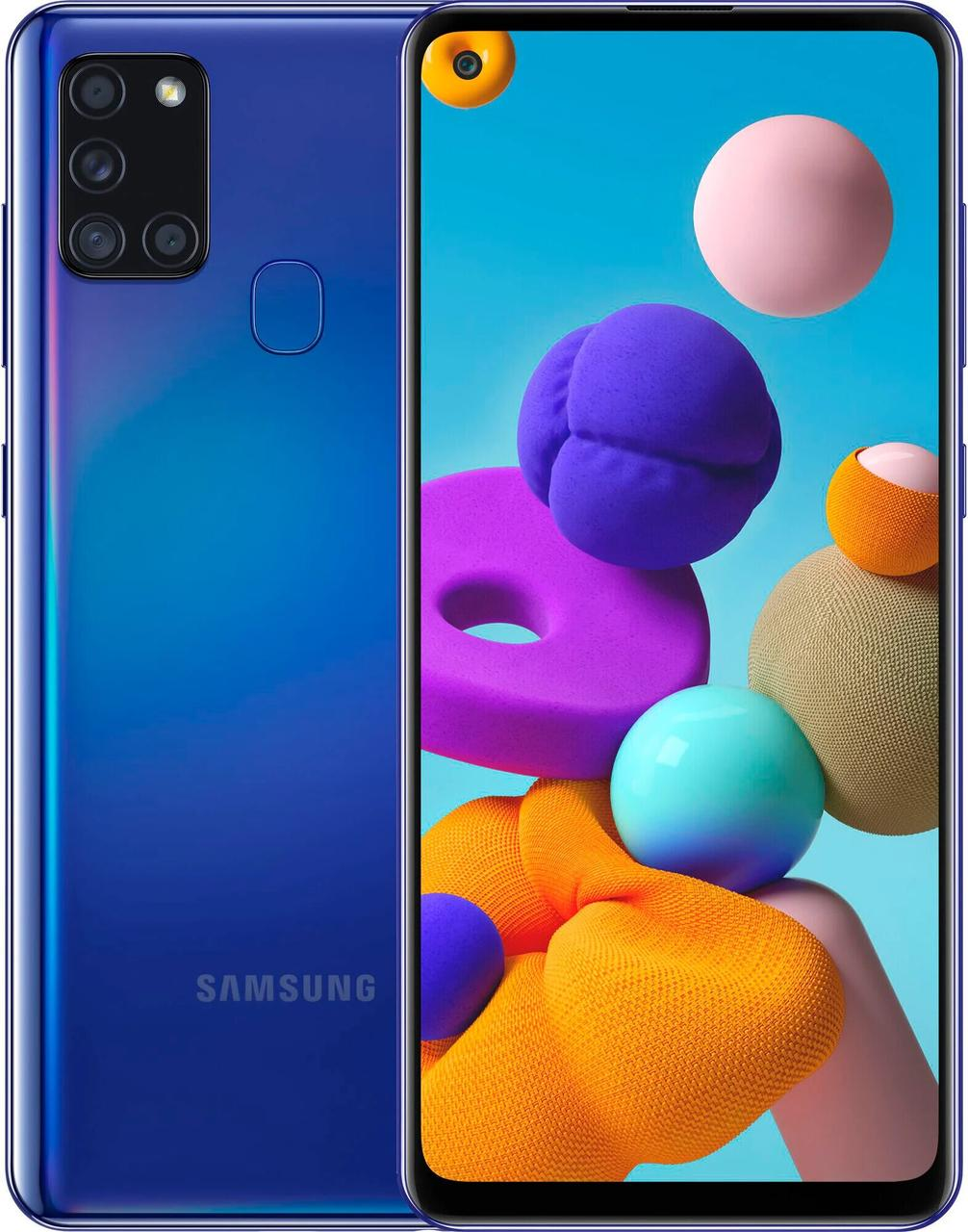 Galaxy A21s 2020 3/32Gb Blue EAC