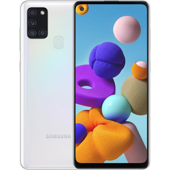 Galaxy A21s 2020 3/32Gb White EAC