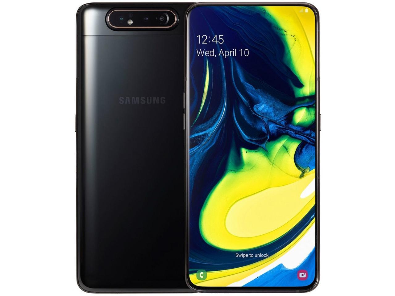 Galaxy A80 2019 8/128 Black EAC