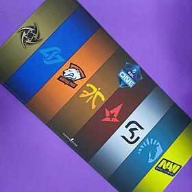 Коврик ESL One (киберспортивные команды)
