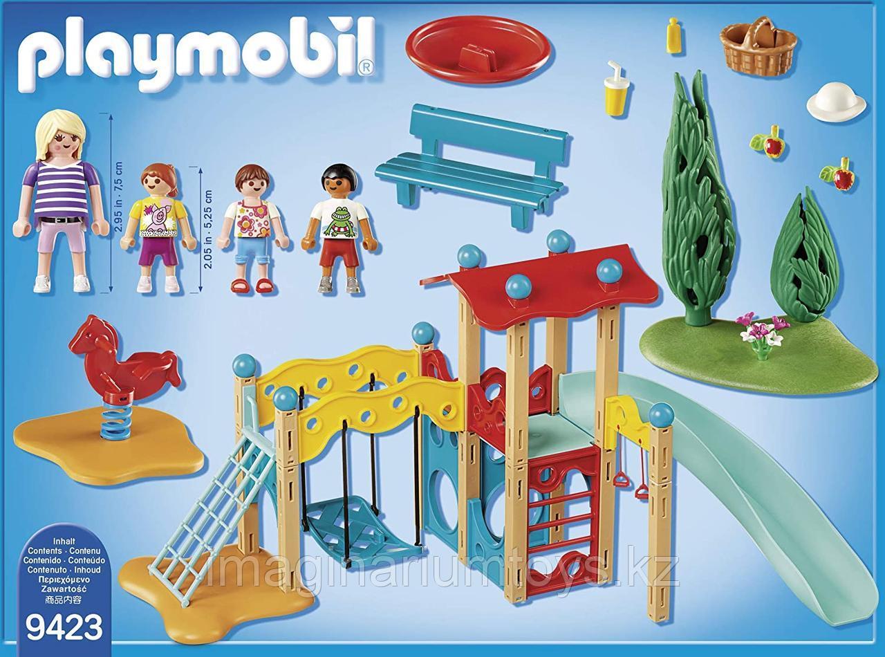 Конструктор «Парк Детская площадка» PLAYMOBIL - фото 4