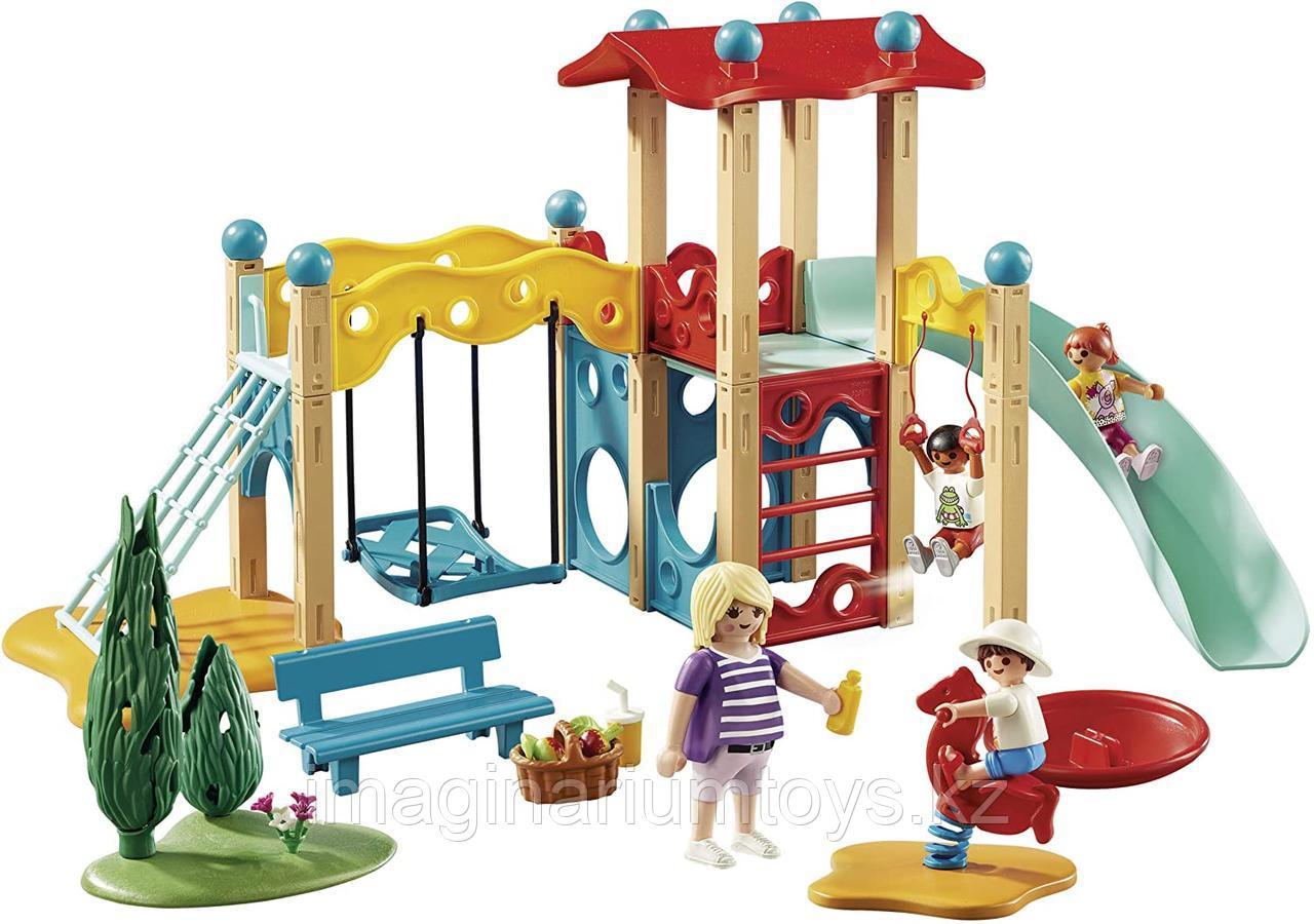 Конструктор «Парк Детская площадка» PLAYMOBIL - фото 1