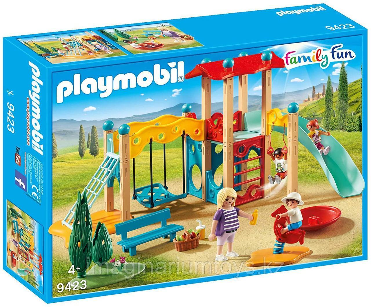 Конструктор «Парк Детская площадка» PLAYMOBIL - фото 2