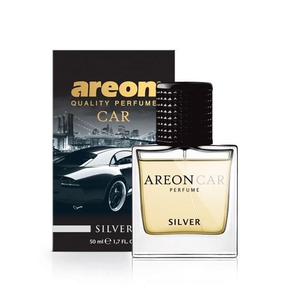 Ароматизатор Areon Car Perfume Glass Silver