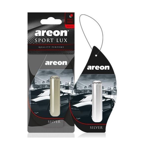 Ароматизатор Areon Lux Sport Liquid 5 ml Silver