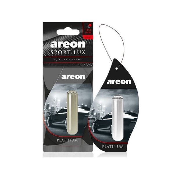 Ароматизатор Areon Lux Sport Liquid 5 ml Platinum