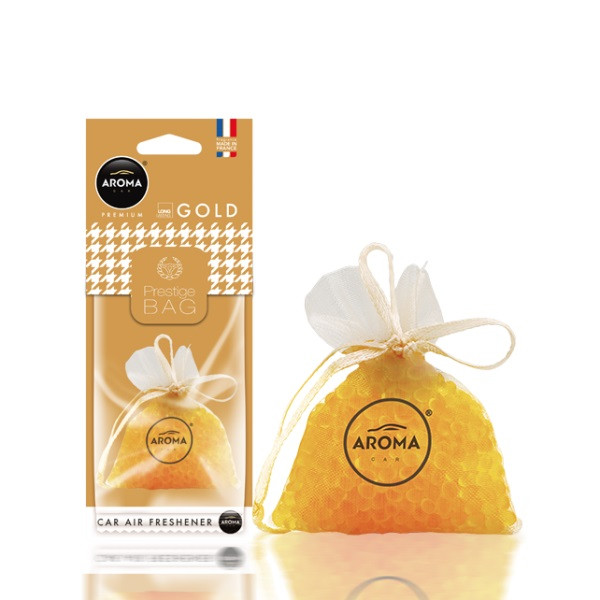 "Ароматизатор Aroma Car ""Prestige"" fresh bag gold"