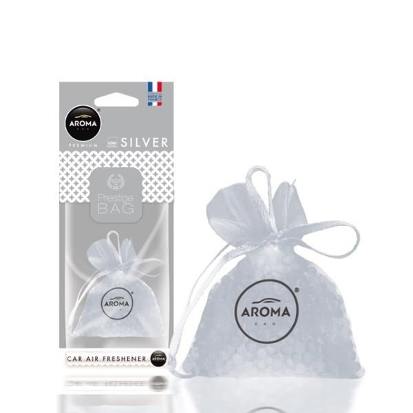 "Ароматизатор Aroma Car ""Prestige"" fresh bag Silver"