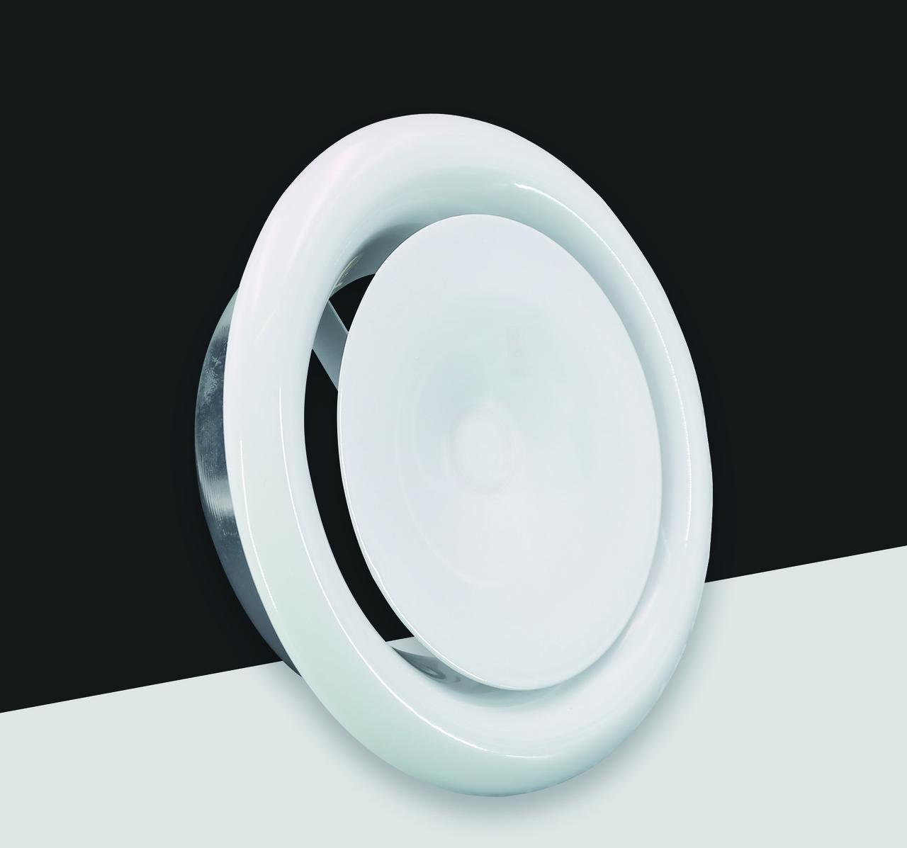 Диффузор-анемостат приточный D125мм (FK020)