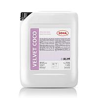 Velvet Coco- Жидкое мыло высокого качества, с эффектом смягчает кожу, и предотвращает сухость кожи рук (кокос)
