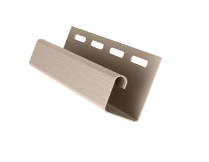 Профиль J Слоновая кость 3000 мм Grand Line
