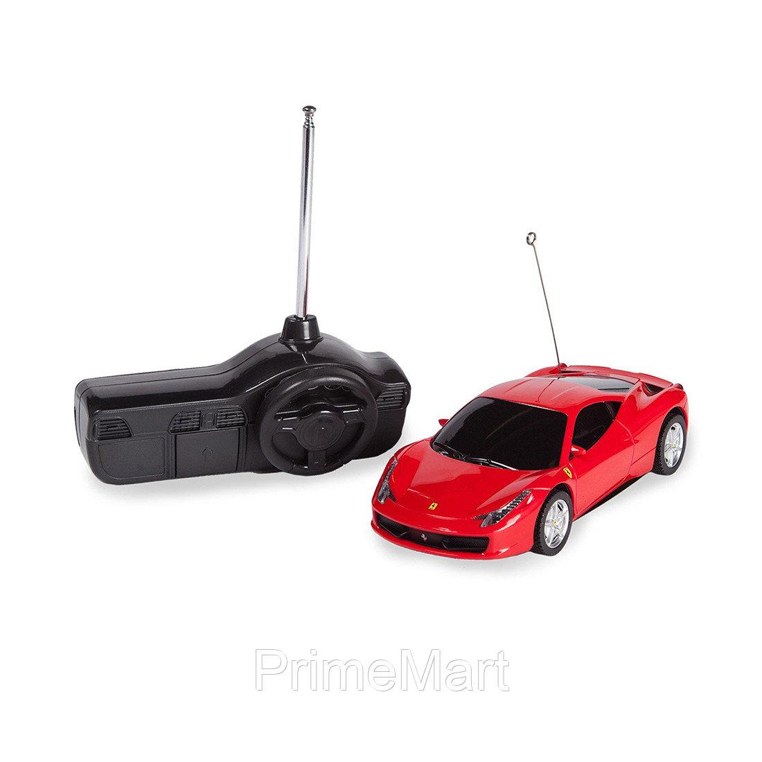 Радиоуправляемая машина, RASTAR, 60500R, 1:32, Ferrari 458 Italia, Пластик, 27 Mhz, Красная