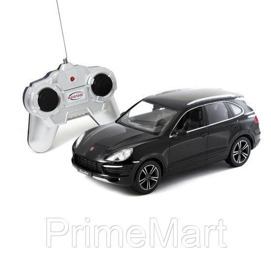 Радиоуправляемая машина, RASTAR, 46100B, 1:24, Porsche Cayenne Turbo, Пластик, 2.4GHz, Чёрная