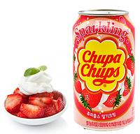 Напиток Chupa Chups клубничный 0,345л Корея