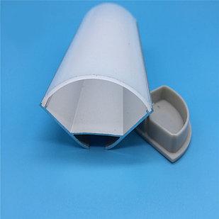 Алюминиевый профиль для светодиодных лент  JH157-2020 полукруглый