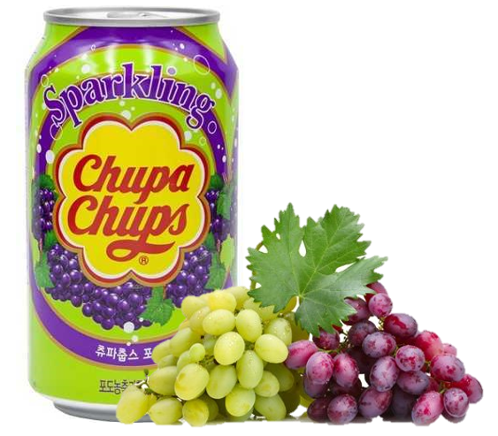 Напиток Chupa Chups виноградный 0,345л Корея