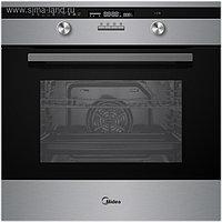 Духовой шкаф Midea MO 781E4 SP X, электрический, 65 л, класс А, черный/серебристый