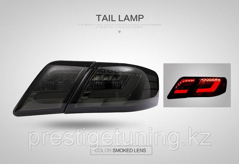 Задние диодные LED фонари Camry V40 Lexus Style (Black)
