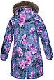 Куртка для девочек MONA, лилoвый с принтом, фото 4