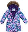 Куртка для девочек MONA, лилoвый с принтом, фото 3