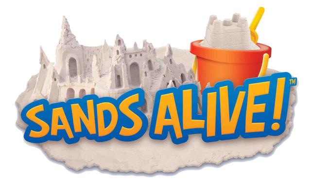 Sands Alive / Песок для лепки