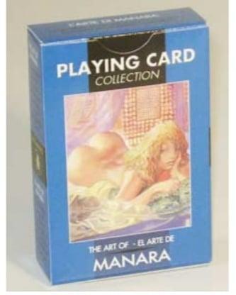 Эротические игральные карты Мило Манара