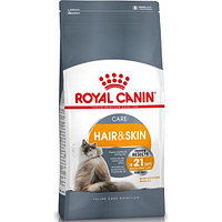 ROYAL CANIN Hair & Skin 33, Роял Канин корм для кошек с питанием шерсти, уп.2кг