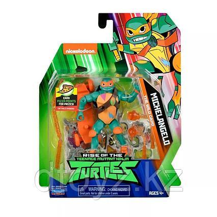 TMNT: Rise of the Turtles. Фигурка Микеланджело 12 см 80803
