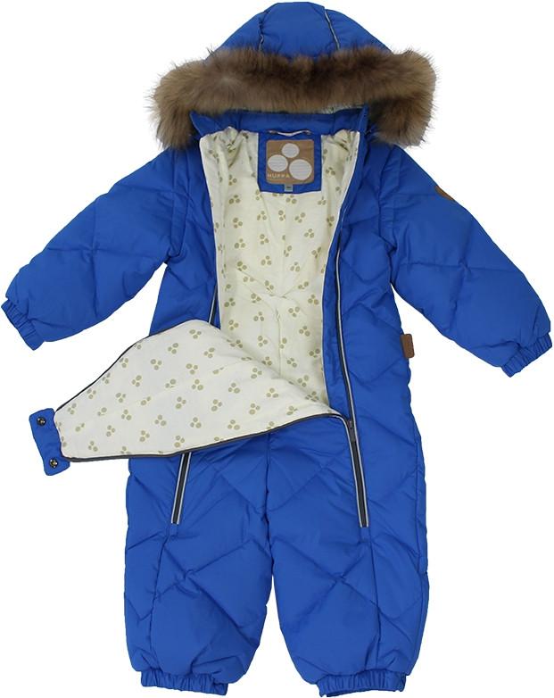 Комбинезон для малышей Huppa BEATA 1, синий - фото 2