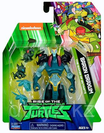 TMNT: Rise of the Turtles. Фигурка Барон Драксум 12 см 80812