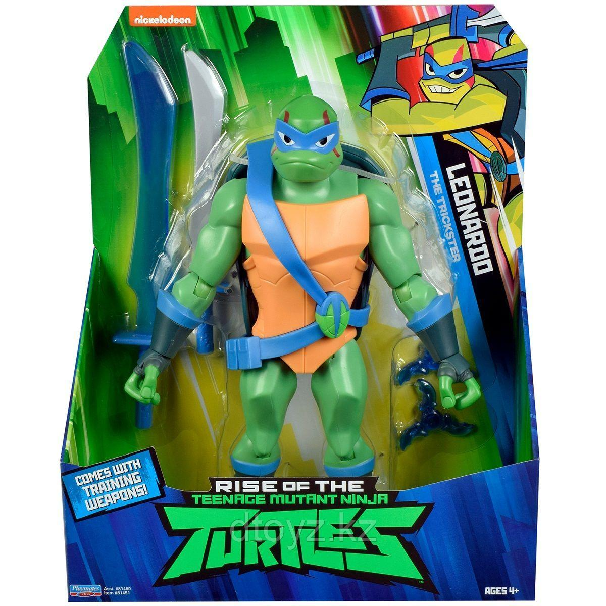 TMNT: Rise of the Turtles. Фигурка Леонардо Остряк 27 см 81451