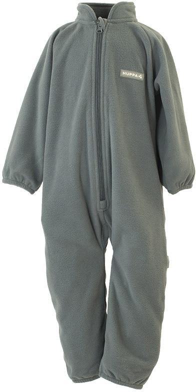 Флисовый комбинесон для малышей Huppa ROLAND, серый