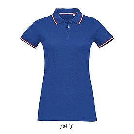 Женская рубашка поло Prestige, синяя