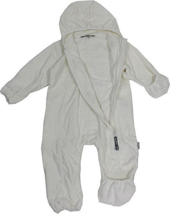 Флисовый комбинезон для малышей Huppa DANDY, белый, размер 62 - фото 3