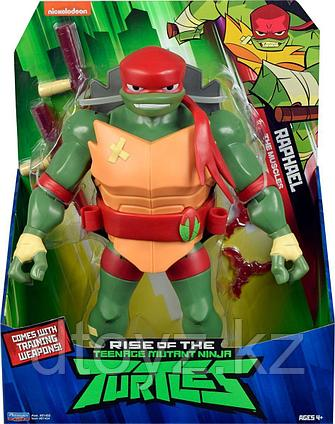 TMNT: Rise of the Turtles. Фигурка Рафаэль Силач 27 см 81454