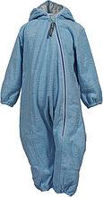 Флисовый комбинесон для малышей Huppa DANDY, голубой