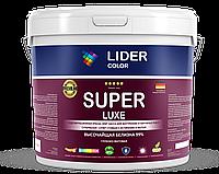 Краска водоэмульсионная LIDER COLOR SUPER LUXE 21 кг супер белая, супер стойкая
