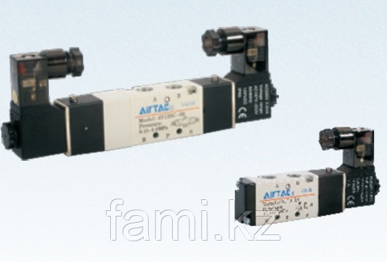 4V130P-06 Пневмораспределитель(Электромагнитный клапан)