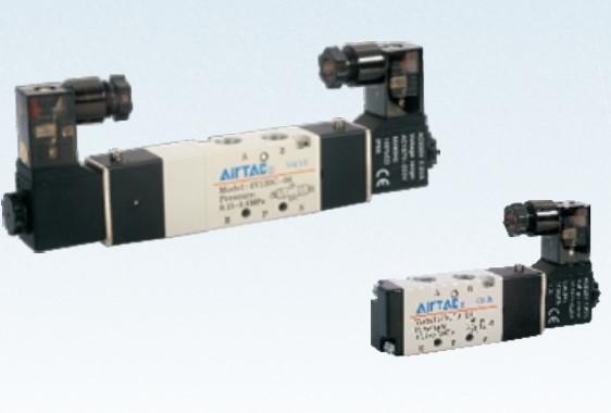 4V330P-08 Пневмораспределитель(Электромагнитный клапан)