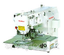 Электронная закрепочная машина SunStar B-1306GS-22  для обработки деталей по шаблону