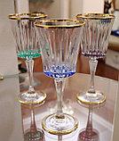 Набор фужеров для вина, воды. Ручная работа, Италия, фото 2