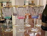Набор фужеров для вина, воды. Ручная работа, Италия, фото 3